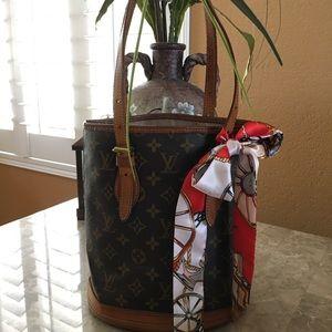 Authentic Louis Vuitton PM Bucket